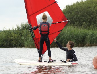 Windsurf lessen